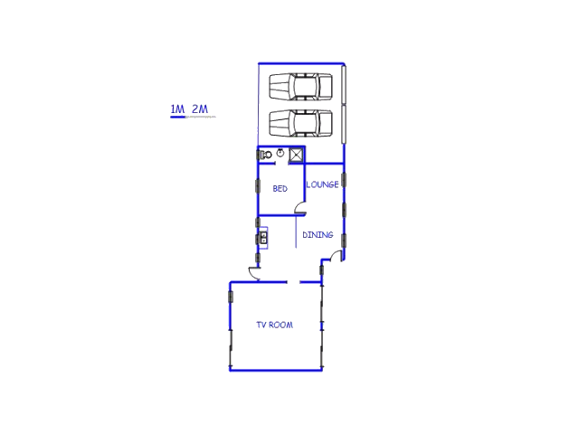 Floor plan of the property in Rustdal