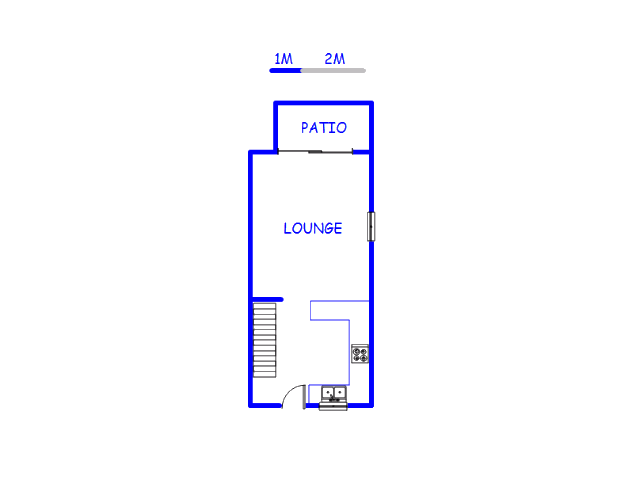 Floor plan of the property in Brentwood Park