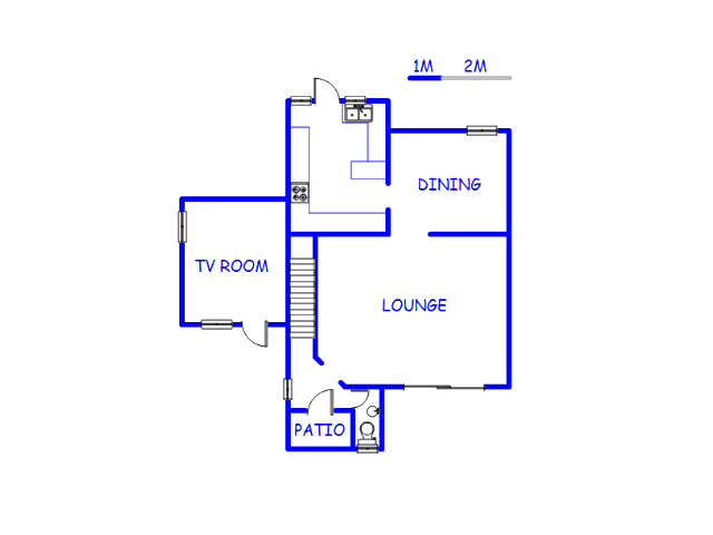Floor plan of the property in Corlett Gardens