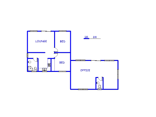 Ground Floor - 121m2 of property for sale in Baillie Park