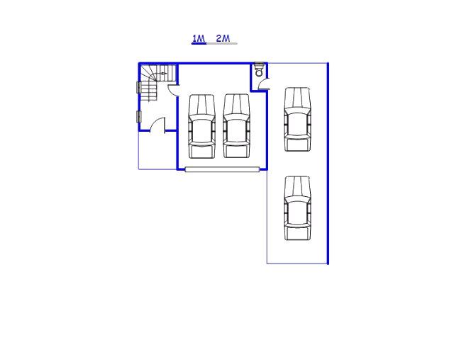 Floor plan of the property in Fochville