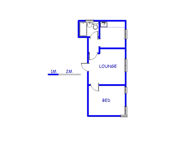 Floor plan of the property in Bulwer
