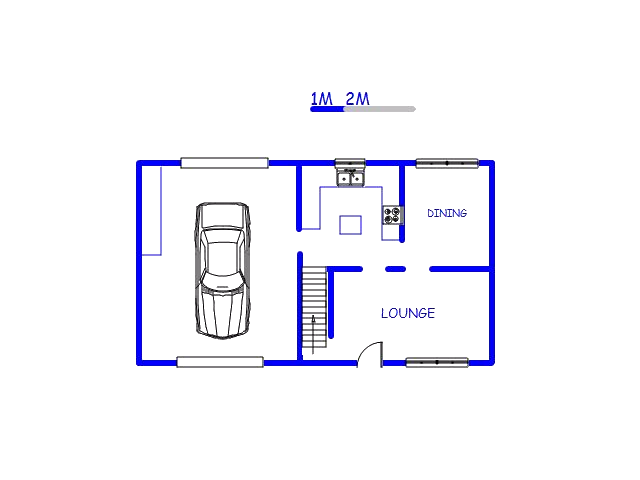Floor plan of the property in Risecliff