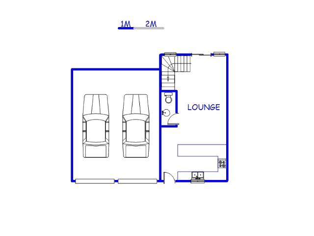 Floor plan of the property in Celtisdal