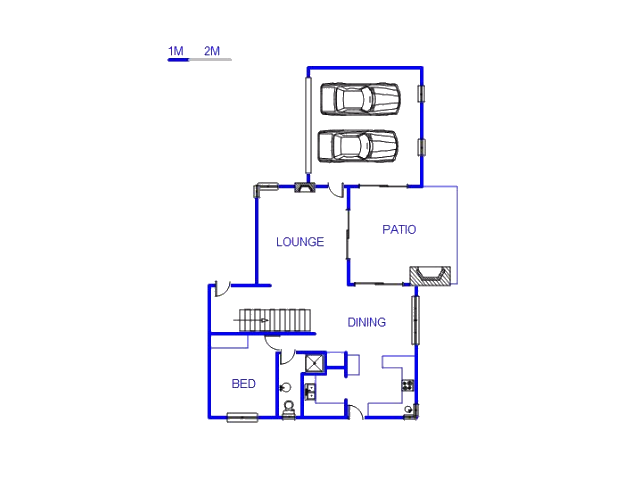 Floor plan of the property in Olympus Country Estate