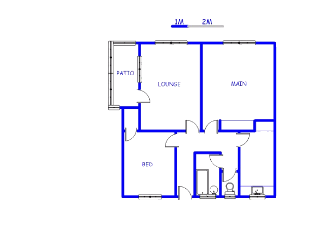 Floor plan of the property in Boston