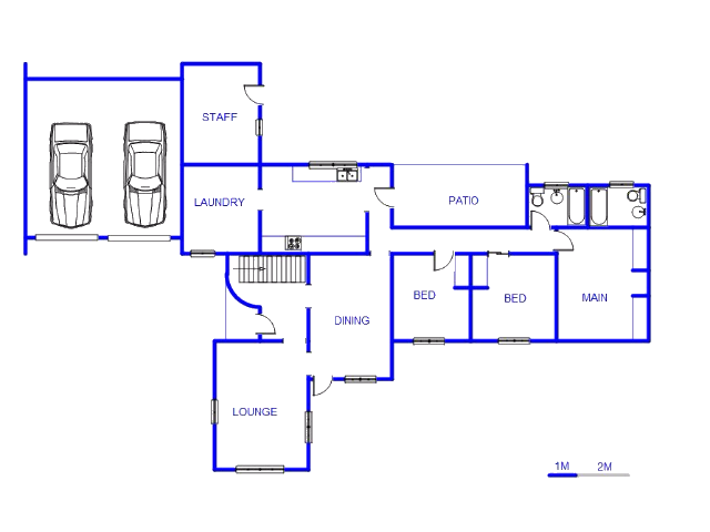 Floor plan of the property in Willow Park Manor