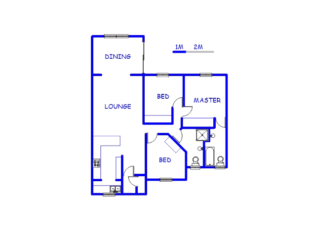 Floor plan of the property in Denlee