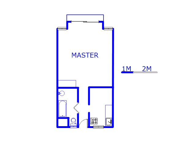 Floor plan of the property in Honey Hill