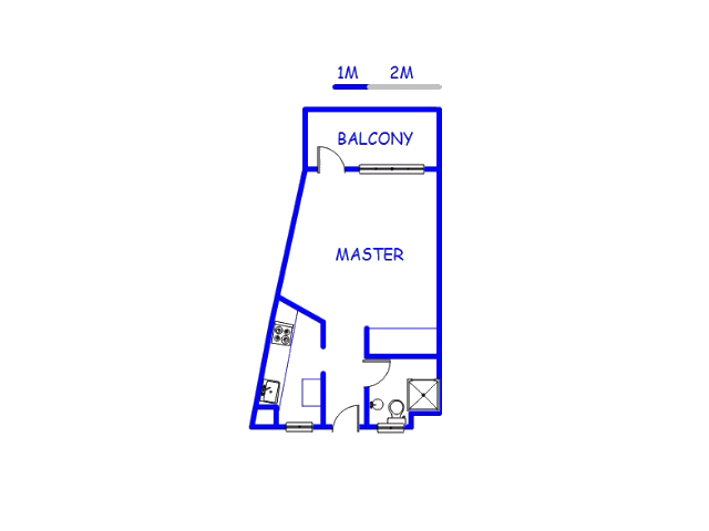 Floor plan of the property in Casseldale