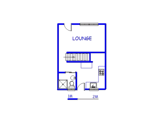 Floor plan of the property in Stanmore