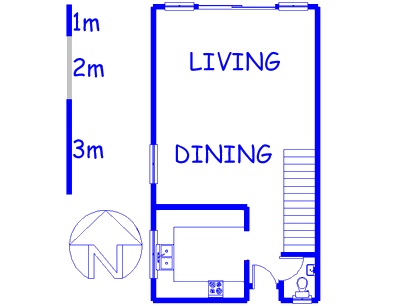 Floor plan of the property in Table View