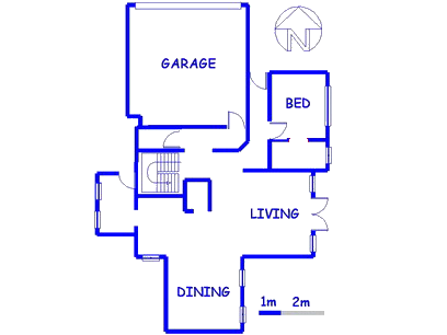 Floor plan of the property in Brookelands Lifestyle Estate