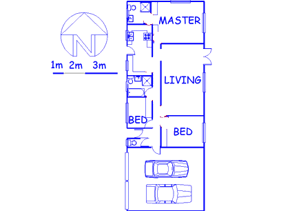 Floor plan of the property in St Winifreds