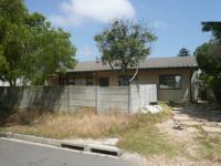 3 Bedroom 1 Bathroom House for Sale for sale in Bothasig