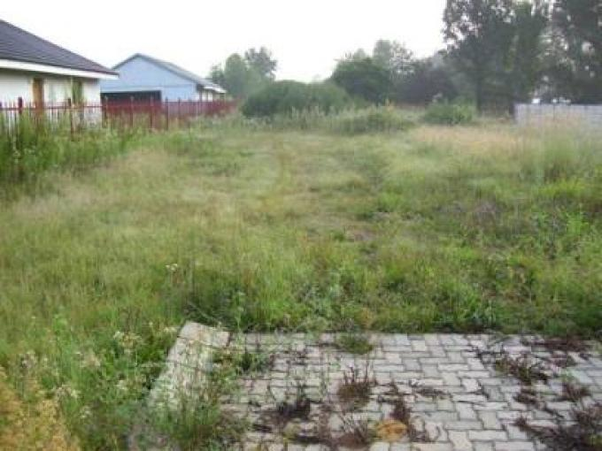 Standard Bank Repossessed Land for Sale on online auction in Meyerton - MR027203