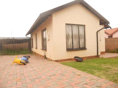 Standard Bank EasySell 3 Bedroom House for Sale For Sale in Naturena - MR029659