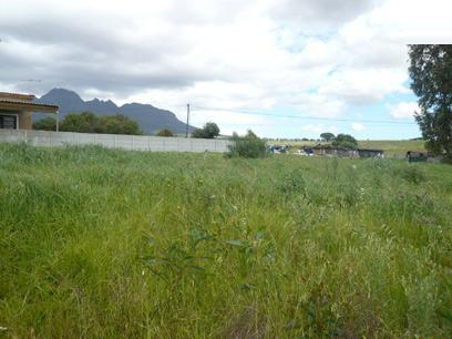 Land for Sale For Sale in Stellenbosch - Private Sale - MR03503