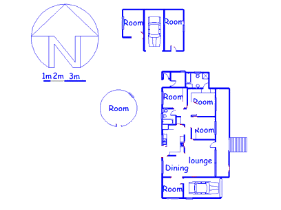Floor plan of the property in Estcourt