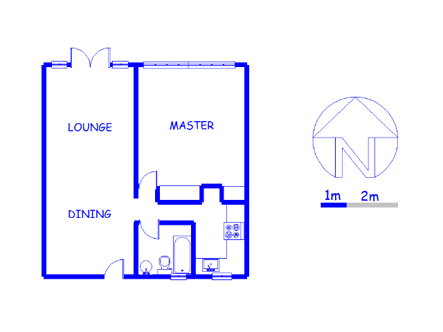 Floor plan of the property in Trevenna