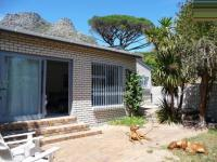 Backyard of property in Hout Bay