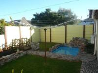 Backyard of property in Parow Central