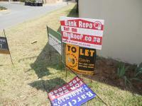 Sales Board of property in Zandspruit
