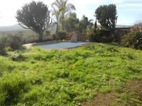 Backyard of property in Oudtshoorn