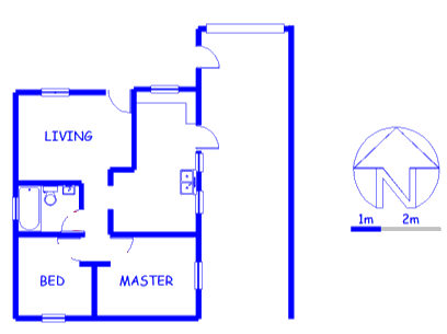 Floor plan of the property in Ottery