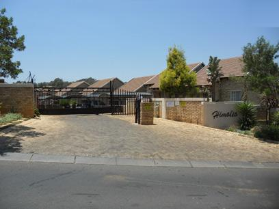 Standard Bank EasySell 2 Bedroom Sectional Title For Sale in Wilgeheuwel  - MR059340