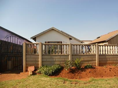 Standard Bank Repossessed 2 Bedroom House For Sale in Katlehong - MR062000