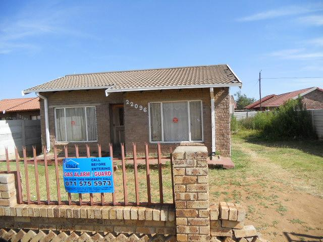 Standard Bank Repossessed 2 Bedroom House on online auction in Welkom - MR062791