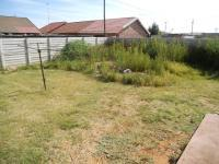 Backyard of property in Welkom