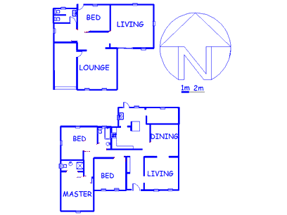 Floor plan of the property in Parkhill Gardens