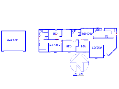 Floor plan of the property in Edelweiss