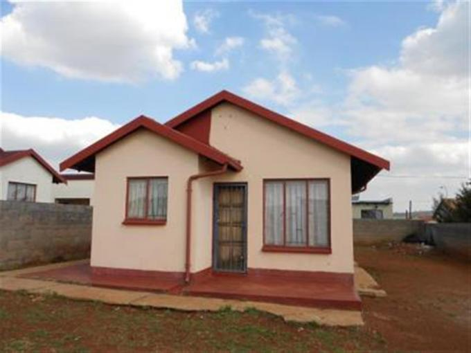 Standard Bank Repossessed 2 Bedroom House on online auction in Lawley - MR072968