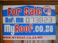 Sales Board of property in Ballito