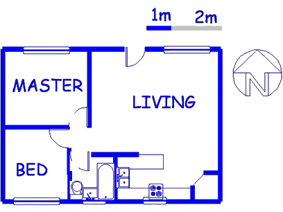 Floor plan of the property in Moregloed
