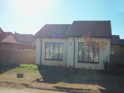 Standard Bank EasySell 2 Bedroom House for Sale For Sale in Soshanguve - MR075327