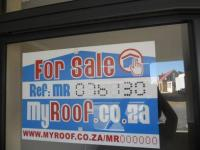 Sales Board of property in Gansbaai