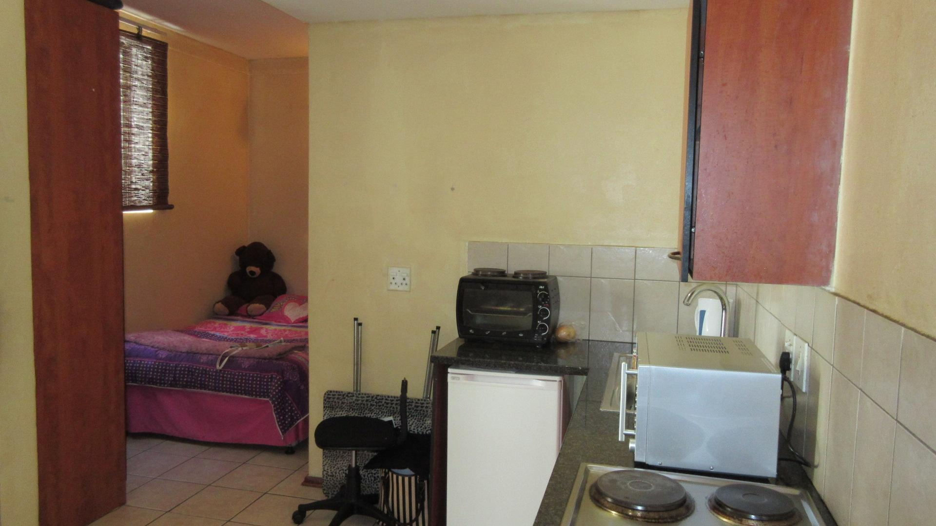 Kitchen of property in Braamfontein