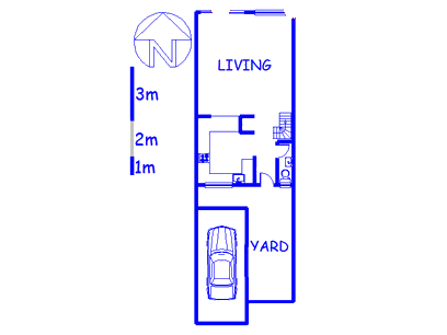 Floor plan of the property in Lydiana