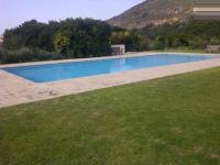 Backyard of property in Plettenberg Bay