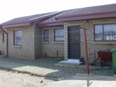 Standard Bank Repossessed 3 Bedroom House for Sale on online auction in Evaton - MR078837