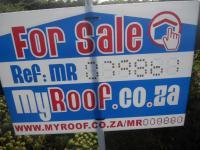 Sales Board of property in Yzerfontein