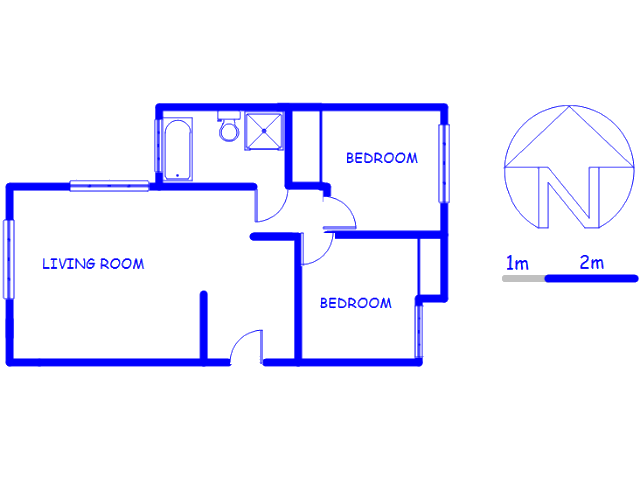 Floor plan of the property in Aeroton