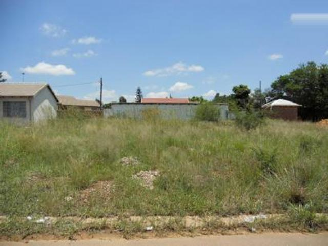 Land for Sale For Sale in Soshanguve - Private Sale - MR080261