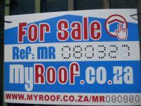 Sales Board of property in Cape Town Centre