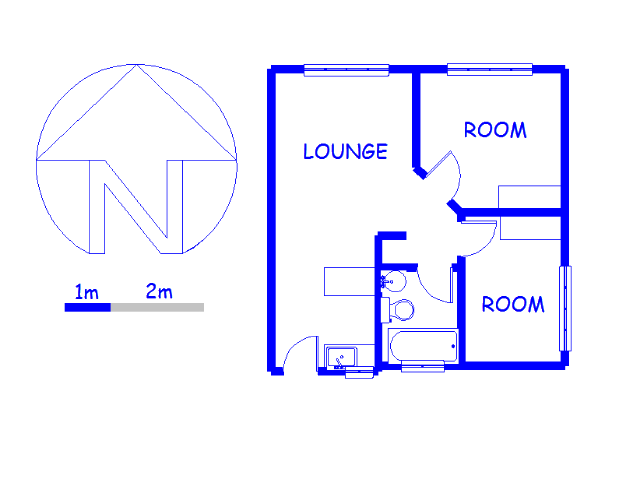Floor plan of the property in Brackenham