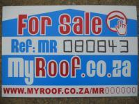 Sales Board of property in Queensburgh